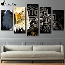 Paintings For Living Room Online Get Cheap Art Motorcycles Aliexpress Com Alibaba Group