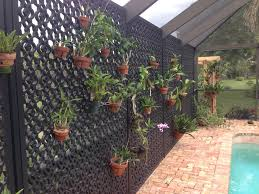 backyard privacy screens trellis home outdoor decoration