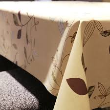 Vinyl Table Cover Waterproof Oilproof Wipe Clean Pvc Vinyl Tablecloth U2013 Shop The Nation