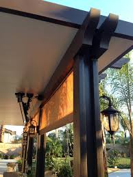Shades For Patio Covers Aluminum Patio Covers Redlands Alumacover Aluminum Patio