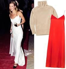 90s dress 90s inspired combos slip dresses turtlenecks instyle