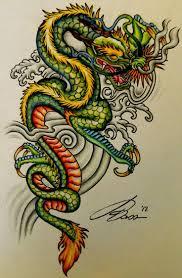 download dragon tattoo color danielhuscroft