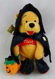 disney store winnie pooh halloween witch costume bean bag