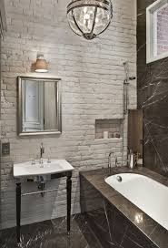 33 bathroom designs with brick wall tiles home ideas