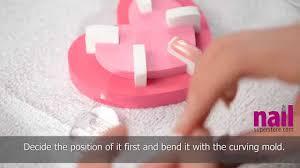 japanese nail art step by step how to tutorial video sakura
