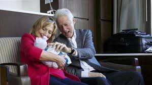hillary clinton s childhood chelsea clinton gives birth to baby girl