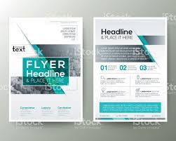 flyer graphic design layout poster brochure flyer design layout vector template stock vector art
