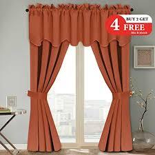Orange Thermal Curtains Compare Price To Burnt Orange Panel Curtains Tragerlaw Biz