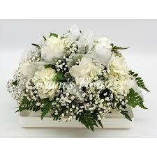 baby casket white cloud baby casket spray council bluffs ia omaha ne florist
