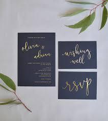 wedding invitation calligraphy calligraphy wedding invitation gold foil calligraphy