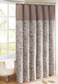 Fabric Shower Curtains With Valance Awesome Elegant Shower Curtains With Valance And Best 10 Shower