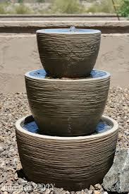 Water Features Backyard by 15 Diy Outdoor Fountain Ideas How To Make A Garden Fountain For