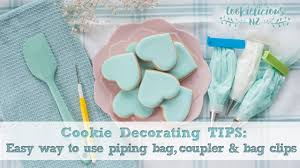 Cookie Decorating Tips Cookie Decorating Tips The Easy Way To Use Piping Tips Couplers