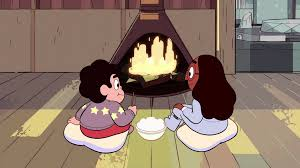 image winter forecast fireplace gif steven universe wiki