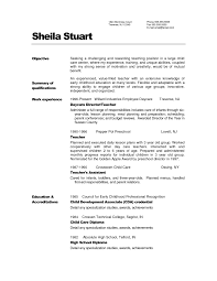 Teaching Resume Template Simple Summary Of Qualifications Resume Exle With