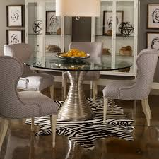 Dining Table Design With Round Glass Top Vanguard Willow Dining Table Designer Round Pedestal Dining Tables