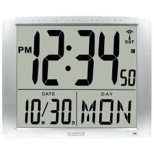 lighted digital wall clock wall clocks lighted digital wall clock large lighted digital wall