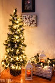 Halloween Decorating Ideas Indoor Mixed Artificial Christmas Tree