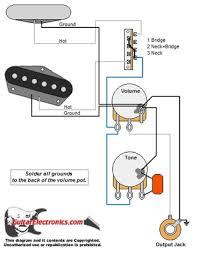 style guitar wiring diagram