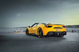 ferrari 488 speciale novitec rosso works its magic on the ferrari 488 spider