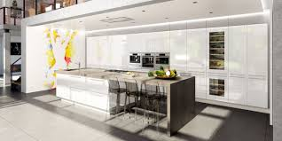 cuisine moderne avec ilot cuisine contemporaine avec îlot central cuisines charles rema