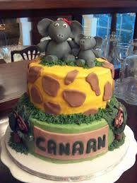 baby shower safari cake cakecentral com