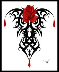 gothic vamp rose tattoo by lisa herron advanced photoshop gothic vamp rose tattoo