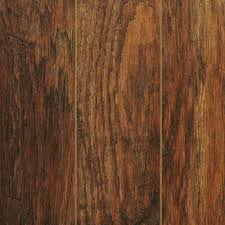 Dark Wide Plank Laminate Flooring Home Decorators Collection Hand Scraped Medium Hickory 12 Mm Thick
