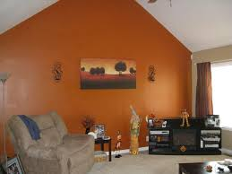 living room charming orange accents in living room to your home