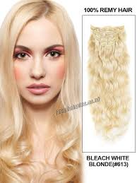Long Blonde Wavy Hair Extensions by 26 Inch 12pcs Super Thick Clip In Human Hair Extensions Body Wavy