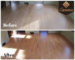 hardwood floor stair refinishing appleton wi signature