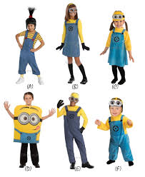 minions costume for toddlers new kids official despicable me minion fancy dress up costume