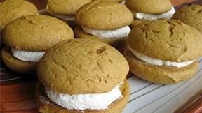 pumpkin whoopie pies recipe dessert recipes pbs food