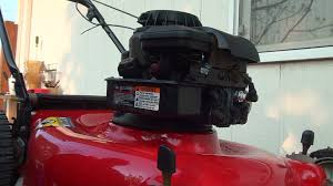 how to repair a briggs and stratton lawnmower fuel problem