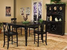 intercon dining room roanoke gathering table legs rn ta 5454g blk