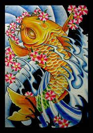 japanese koi fish drawings japanese koi fish by thirteen7s