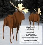 animal moose and deer at woodworkersworkshop