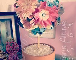 Topiary Wedding - flower topiary shabby chic flowers rose decor hydrangea