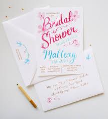 custom bridal shower invitations unique bridal shower invitations mospens studio