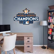 houston astros 2017 world series champions logo wall decal shop houston astros 2017 world series champions logo wall decal shop fathead for houston astros decor