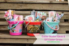ideas for easter baskets diy easter grass easter basket ideas for boys and