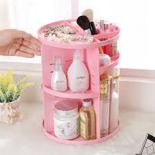 Stylish Desk Organizers by New Simple Stylish Rotating Cosmetics Organizer Storage Box