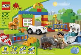 lego duplo town 6136 my zoo building set toys