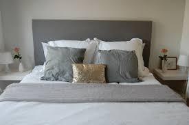 making a bed headboard home design ideas