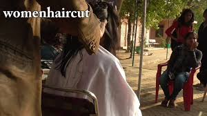 chop chop hair in open air back 2 back 7 haircut youtube