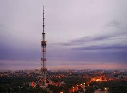 radio tower radio tower kyiv photos description address on the map