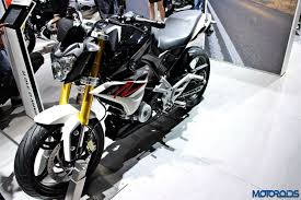 bmw motorcycle 2016 auto expo 2016 tvs bmw g 310 r showcased no launch details