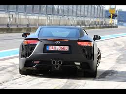lfa lexus black 2012 lexus lfa black rear 1280x960 wallpaper