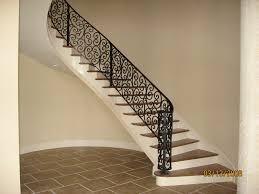 minimalist 22 iron staircase railing designs on railing systems
