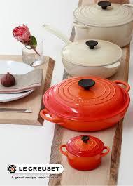 Creuset Pot Flame Table Setting Lifestyle Flame Pinterest Table Settings
